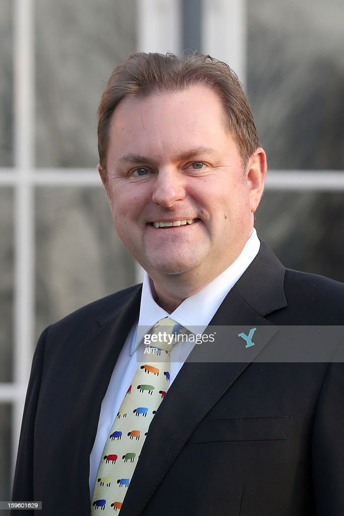CEO of 'Welcome to Yorkshire' Gary Verity poses on January 17, 2013 in Paris, prior to the official presentation of the 2014 Tour de France's 'Grand depart' (Great departure). The 2014 Tour de France will start with a stage between Leeds and Harrogate in the northern English county of Yorkshire on July 5, organisers of cycling's most prestigious and gruelling race announced today.