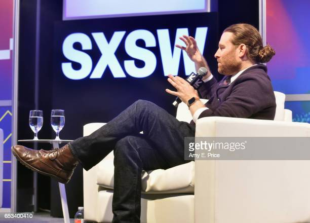 CEO of Within Chris Milk speaks onstage at 'This Is Not a GameOr a Movie Chris Milk on VR' during 2017 SXSW Conference and Festivals at Austin...