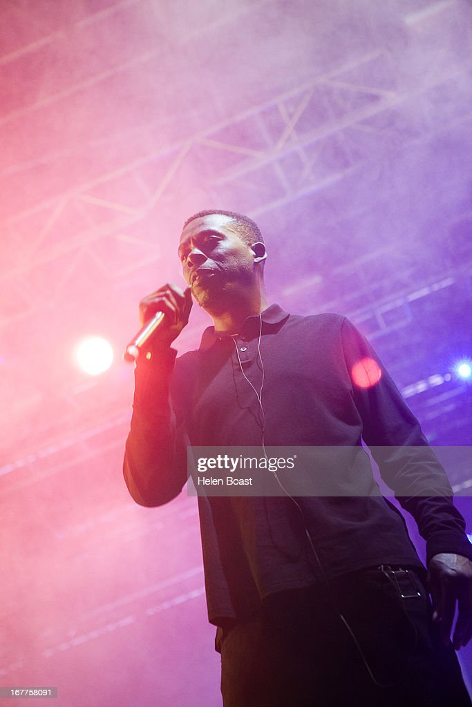 GZA of Wu Tang Clan performs on stage at 2013 Coachella Music Festival on April 21, 2013 in Indio, California.