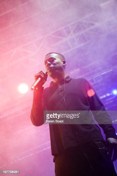 GZA of Wu Tang Clan performs on stage at 2013 Coachella Music Festival on April 21 2013 in Indio California