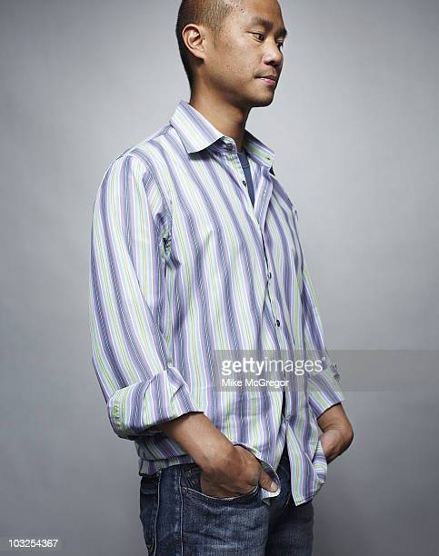 CEO of Zappos Tony Hsieh at a portrait session for Bloomberg Businessweek on May 24 2010 in New York City PUBLISHED IMAGE