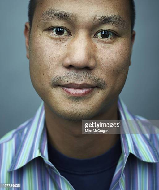 CEO of Zappos Tony Hsieh at a portrait session for Bloomberg Businessweek on May 24 2010 in New York City
