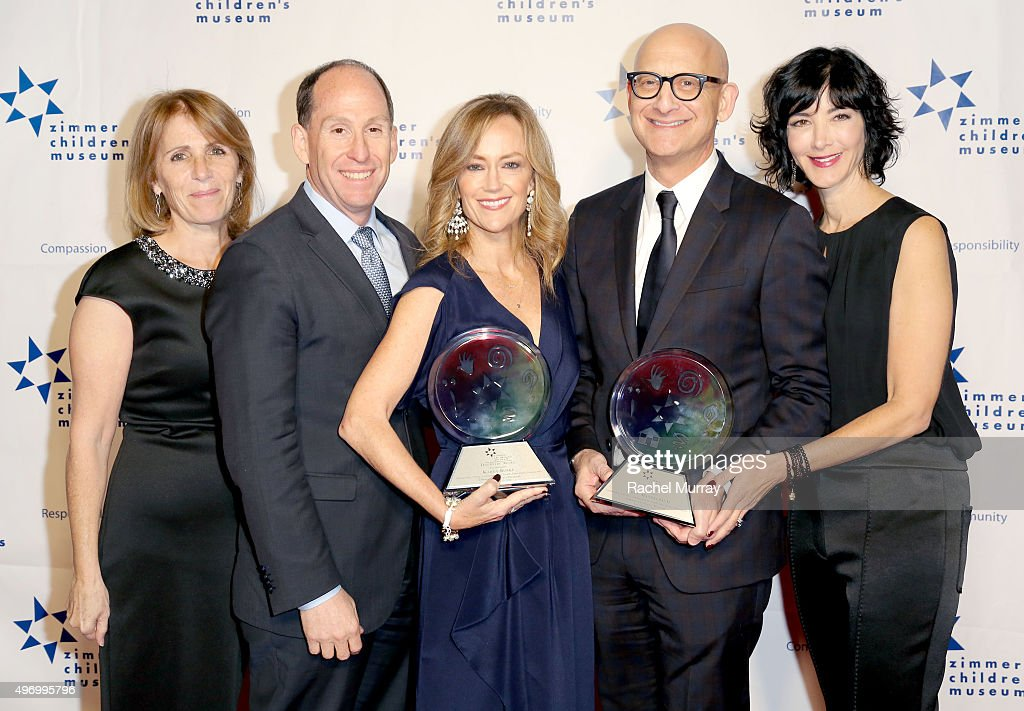 CEO of Zimmer Children's Museum Esther Netter President Worldwide Networks Sony Pictures Television Andy Kaplan Honoree Karey Burke Honoree James...