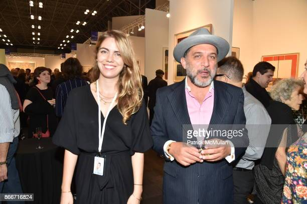 Ofer Reyhanian attends the IFPDA Fine Art Print Fair Opening Preview at The Jacob K Javits Convention Center on October 25 2017 in New York City