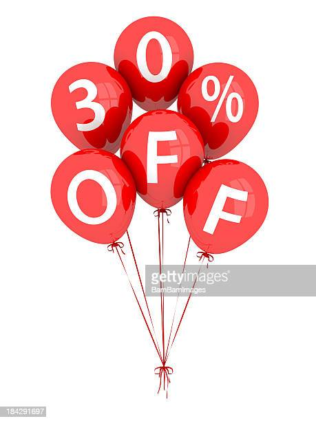 30% Off Balloons