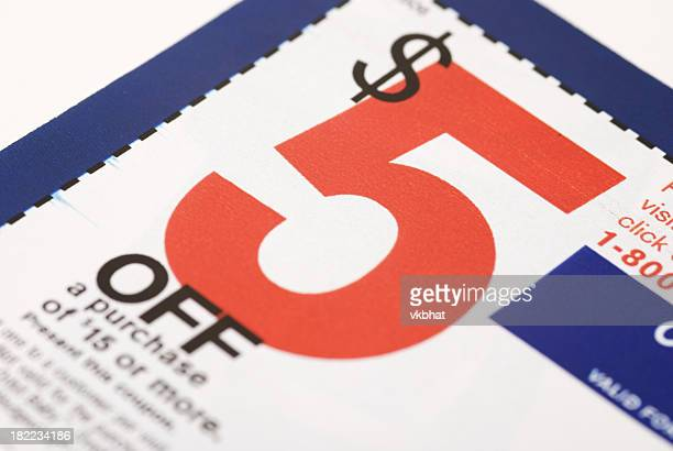 coupon de réduction de 5 $