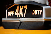 Off Duty' taxi sign