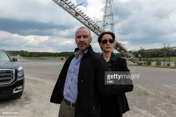 TAKEN 'Off Side' Episode 103 Pictured Alan van Sprang as Mike Gilroy Jennifer Beals as Christina Hart