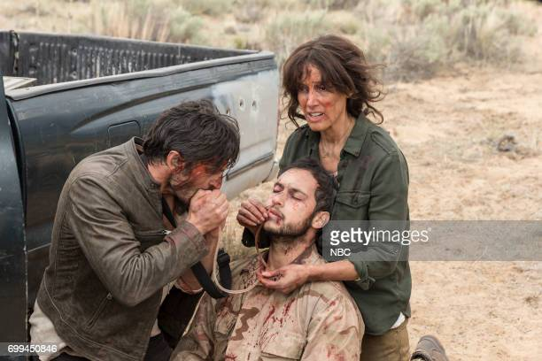 SHIFT 'Off The Rails' Episode 402 Pictured Eoin Macken as TC Callahan Jaylen Moore as Omar Jennifer Beals as Syd Jennings