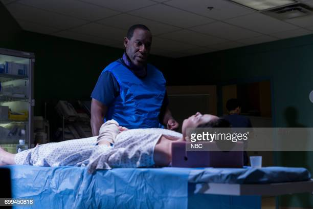 SHIFT 'Off The Rails' Episode 402 Pictured James McDaniel as Julian Cummings Kelli Berglund as Sofia
