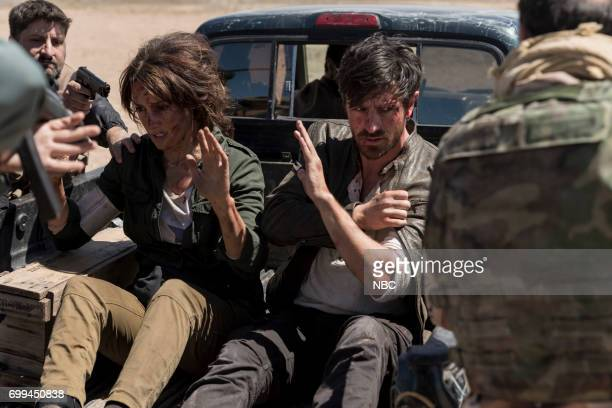 SHIFT 'Off The Rails' Episode 402 Pictured Jennifer Beals as Syd Jennings Eoin Macken as TC Callahan