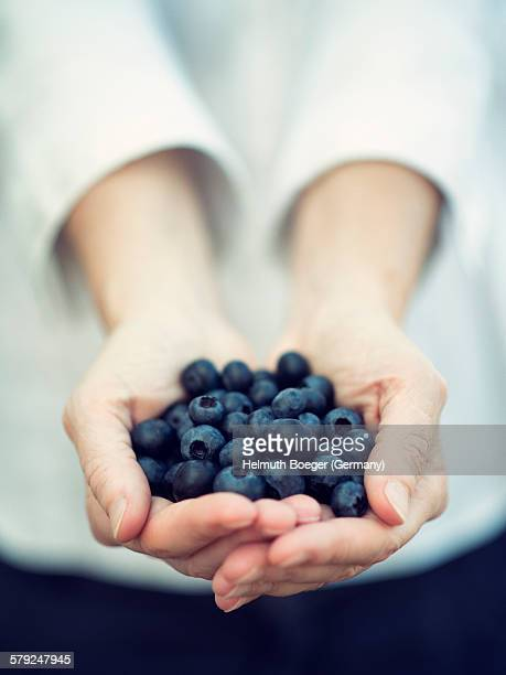 Offering Blueberries