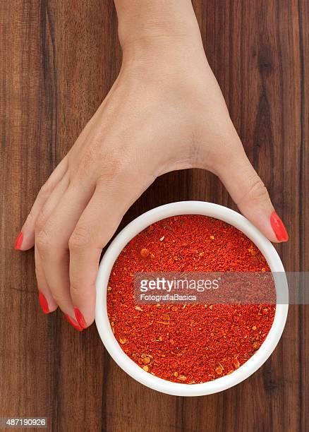 Offering paprika