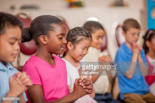 Offering Prayer in Class