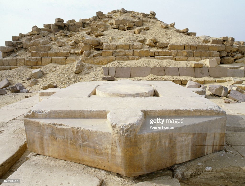 Ancient egyptian table - Offering Table At Niuserres Sun Temple Being Found In The Area Previously Known As The