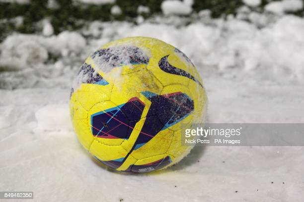 Offical Barclays Premier League winter matchball