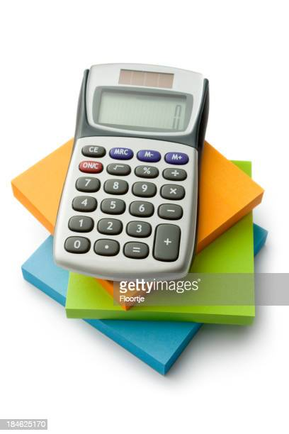 Office: Adhesive Notes and Calculator