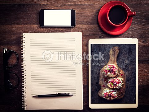 Office and blog concept : Stock Photo