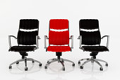 Office Armchairs - Clipping path