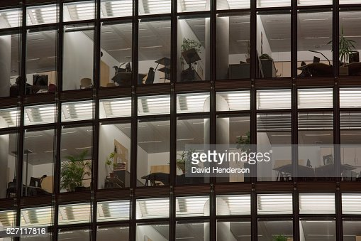Office at night : Stock-Foto