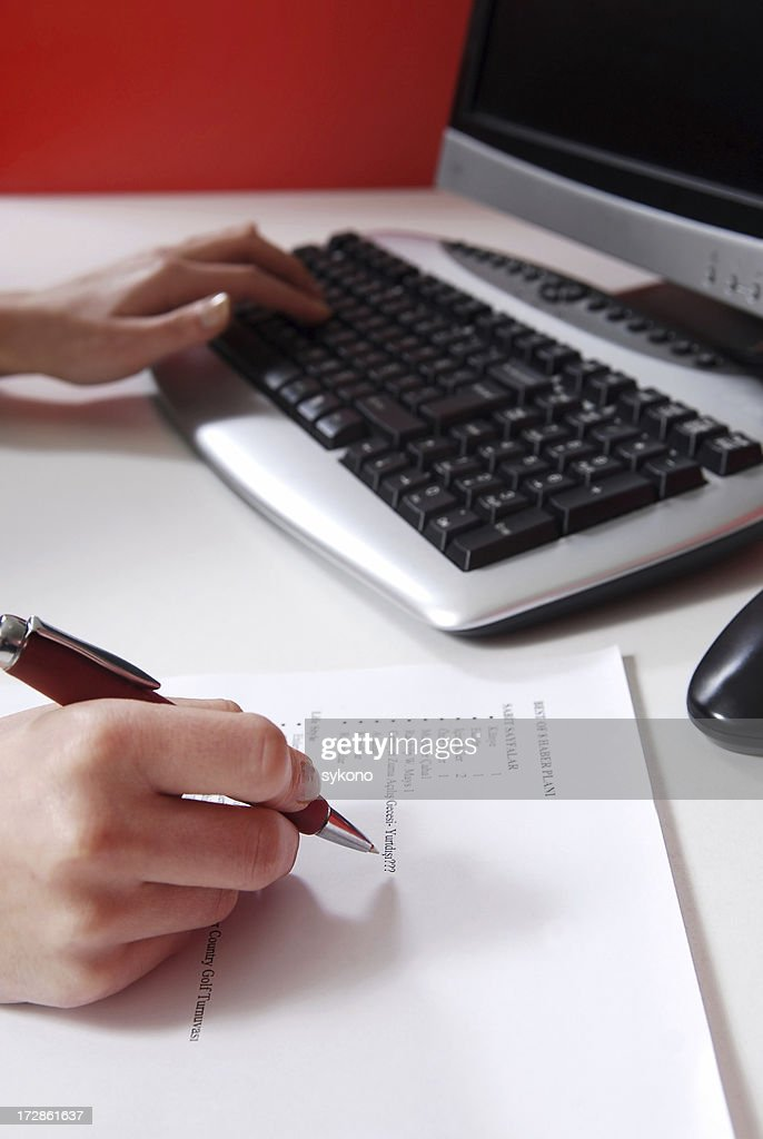 office athmosphere : Stock Photo