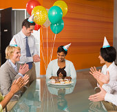 Office birthday party
