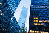 Office blocks on Park Avenue, Manhattan, New York City, USA