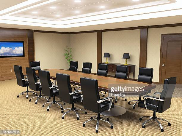 Office Board Room Interior