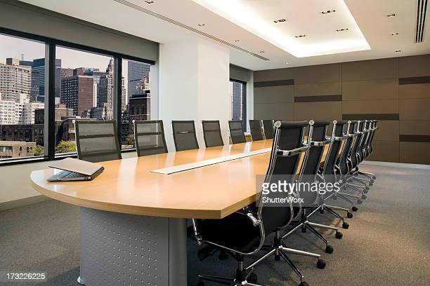 Bureau de la salle de conseil à New York