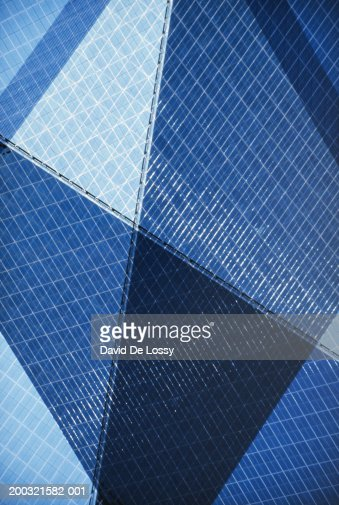 Office building exterior, full frame : Stock Photo