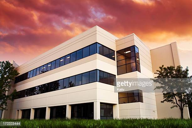 Office Building in Sunset