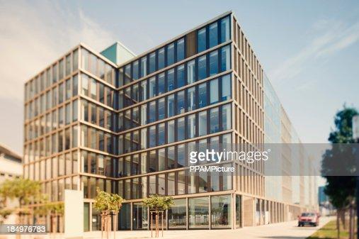 Immeuble de bureaux du soleil