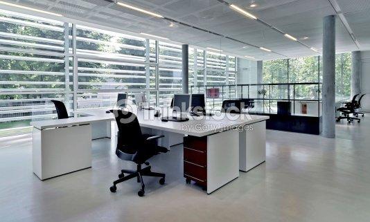 Immeuble de bureaux avec plusieurs postes de travail photo - Fauteuil moderne honken workstation par blastation ...