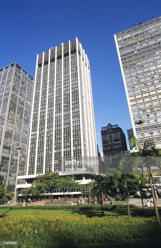 Office buildings in sao paulo : Stock Photo