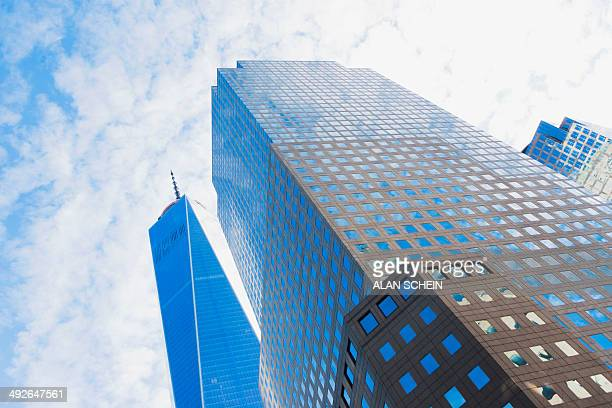 Office buildings, New York City, New York State, USA
