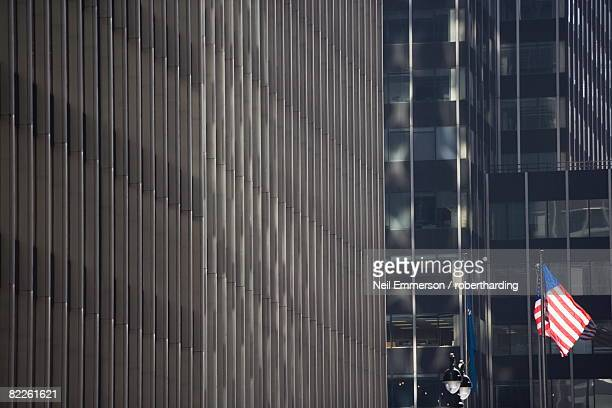 Office buildings, New York City, New York, United States of America, North America