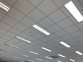Office Ceiling and lighting and air