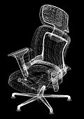 Office Chair Design Architect Blueprint
