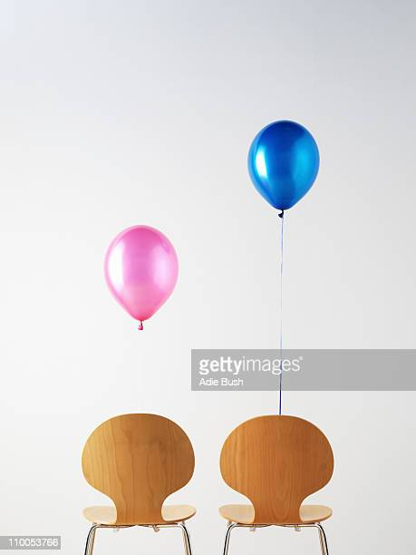 Office Chairs and balloons