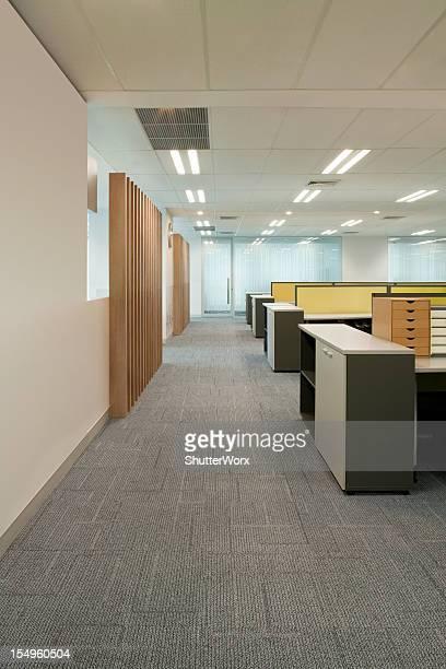 Office Corridor & Work Stations