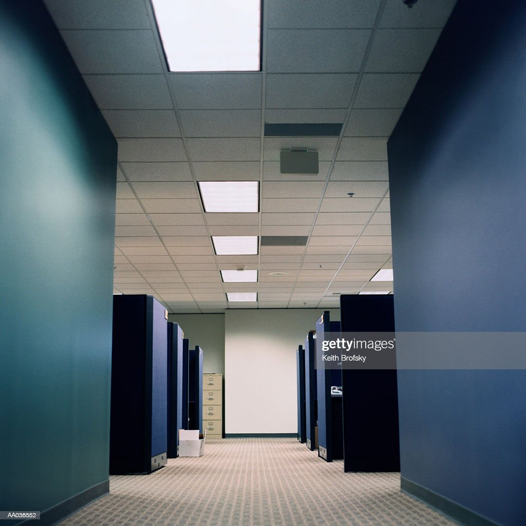 Office cubicles : Stock Photo