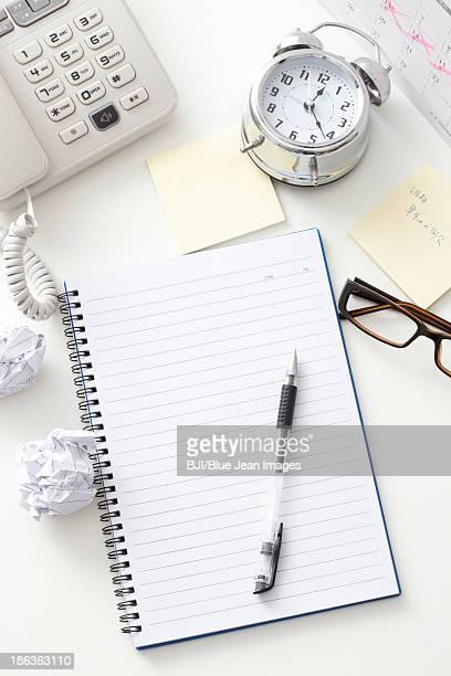 Office desk in studio