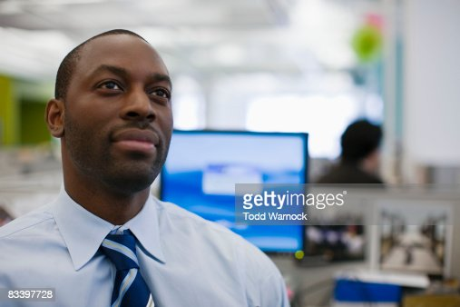 Office Environment in a diverse office : Stock Photo
