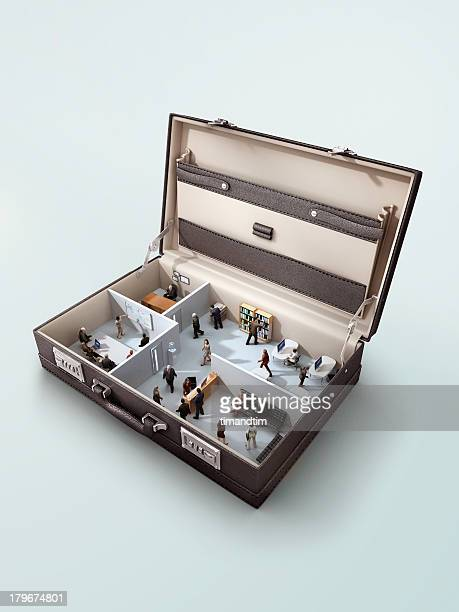 Office in a briefcase