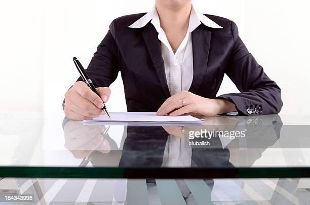 lady de oficina