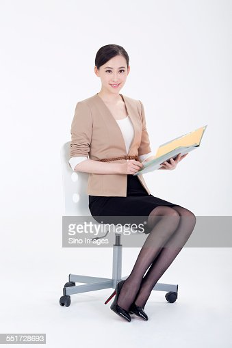 Office lady stock photo getty images for Office photos