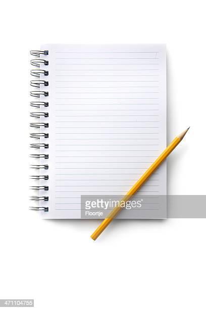 オフィス: ノートと鉛筆