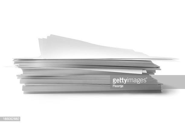 Bureau: Pile de papier
