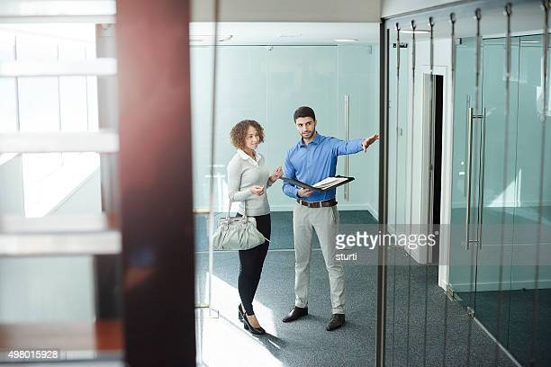 office real estate shopping