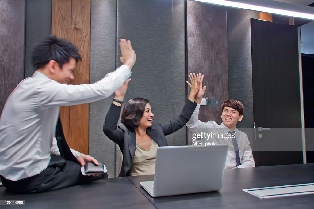 Office scene : Stock Photo